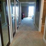 Huge suite, hallway