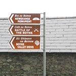 Bru na Boinne signage