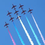 3 Red White & Blue Red Arrows