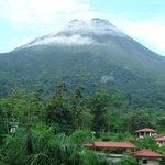 Volcano as seen from our room