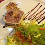 Délicieuse terrine maison au foie gras