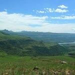 View of lower dam