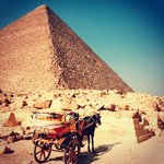 visiting the Pyramids with Egypt Fun Tours