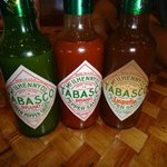 different kinds of tabasco