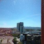 vue sur Barcelone du 10ème étage