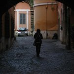 Entrance to Arco dei Tolomei