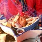 fruits de mer du menu à 28€50