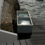 Scuba wash tanks right on dock