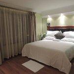 A room in Nairobi Upperhill hotel