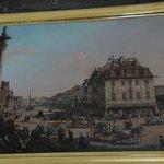 Canaletto Painting 1760's Krakowskie Przedmiescie Street