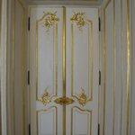 Original interior doors that were saved