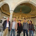 Mahmut with Silvia+Rainer and Şike+Ratthias couples from Germany