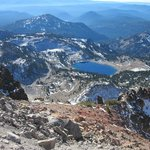 Looking south from Mt. Lassen