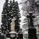 el cementerio nevado