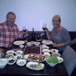 en couple pour un diner remarquable