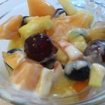 Selbstgemachter Obstsalat