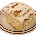 C Shop Cinnamon Rolls are baked fresh daily