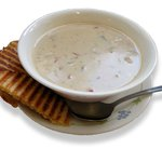 C Shop homemade clam chowder