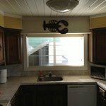 Kitchen in the 3 bed 2 bath suite