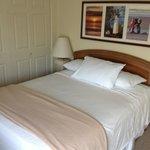 1st bedroom in the 3 bedroom suite