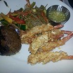 Coconut Shrimp & Petite Filet