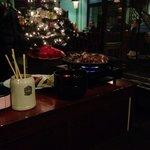 Zubereitung am Tisch