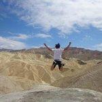 Valle della Morte, un salto di gioia e di vita!