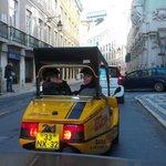 By GoCar in Rossio, Lisbon