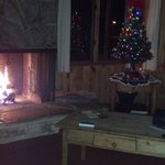 Christmas Eve at cabin #8