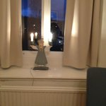 Spooky nightlight on windowsill !