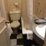 Room 304's bathroom