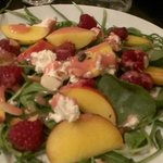 Fishbone summer salad