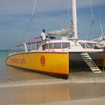 Wadadli Cats Circumnavigation tour boat