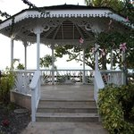 Cute little gazebos were all over the property!