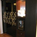 camera executive armadio + macchina espresso