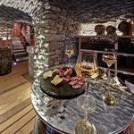 """Restaurant l'Armailly Tignes les Brevieres """"la cave"""""""
