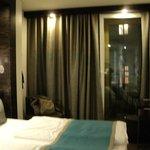 habitación funcional y con espacio bien aprovechado