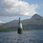 Cross in the bay on the way to Knoydart