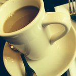 Coffee at Tarrant's Cafe