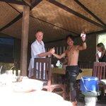 Our dive buddy Katut