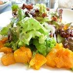 reef summer salad with walnuts
