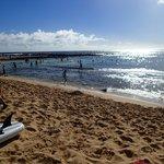 Poipu Beach snorkel area - Christmas Day 2013
