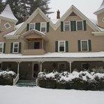 Bernerhof Inn after Christmas day snowfall