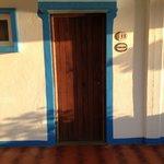 Our door!
