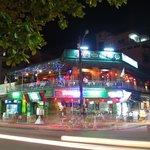 DMZ bar by night