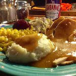 Sunday night special-- turkey dinner with all the fixings for $8.45