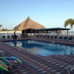 Pool Area at Plaza Beah Resor Hotel
