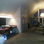 Loft suite dressing area