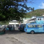 Soufriere by the waterfront near restaurant