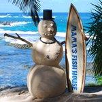 Mama's snow man